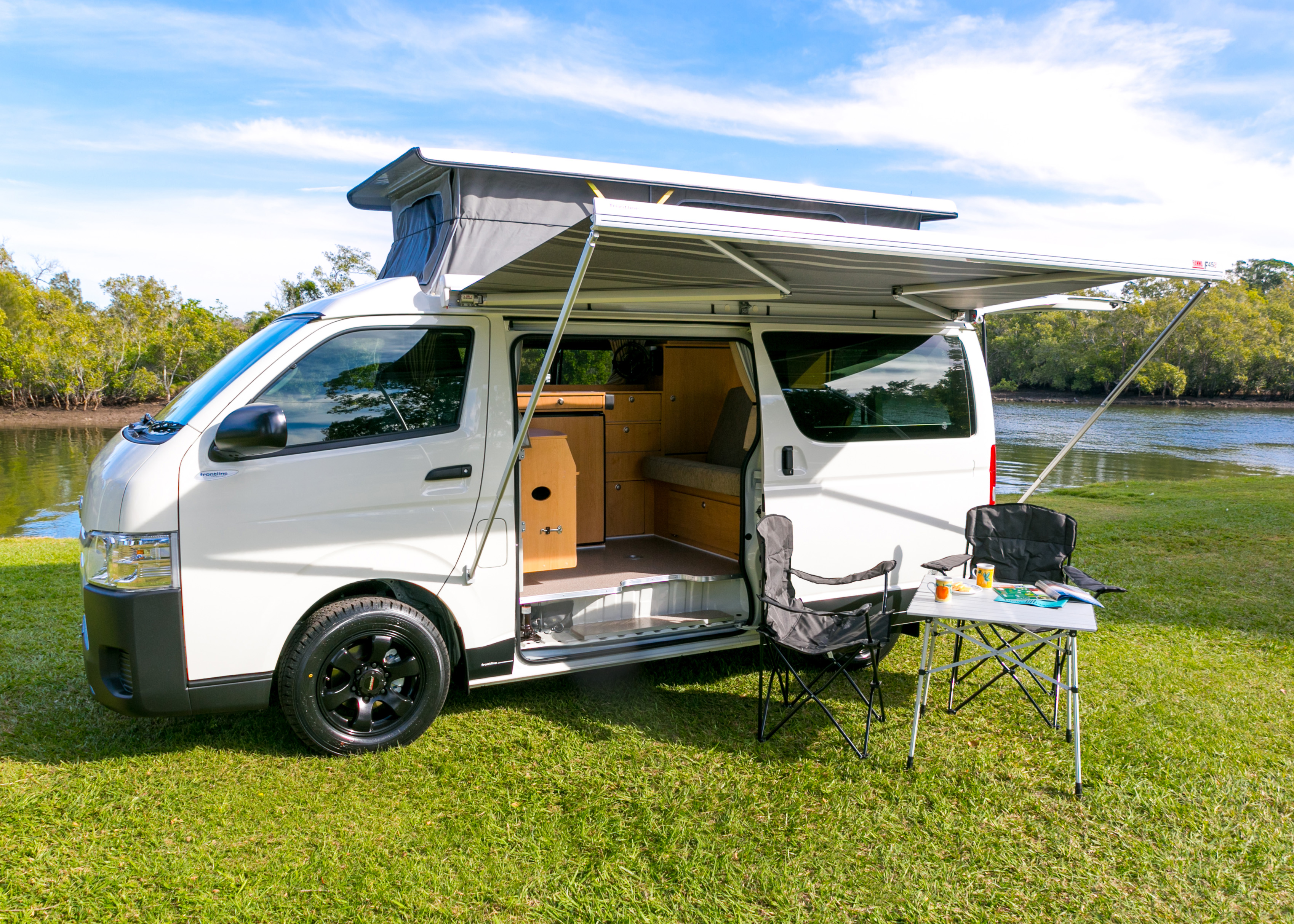 Toyota Hiace Ballina Campers And Motorhome Centre