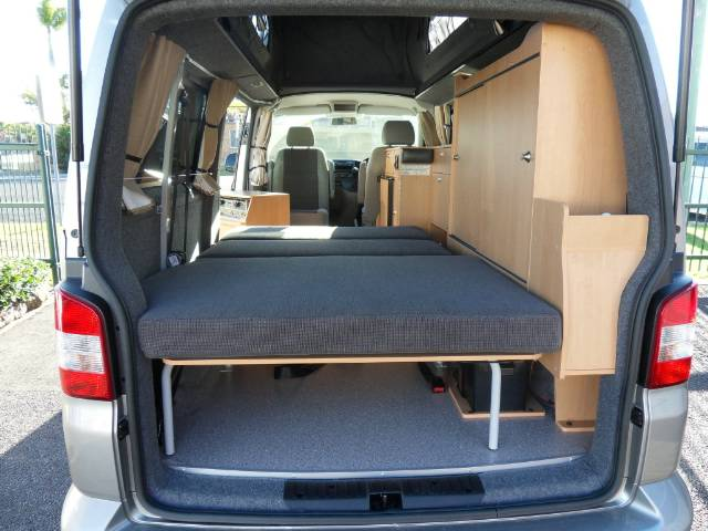 Frontline Adventurer Campervan Vw Transporter Lwb Stock