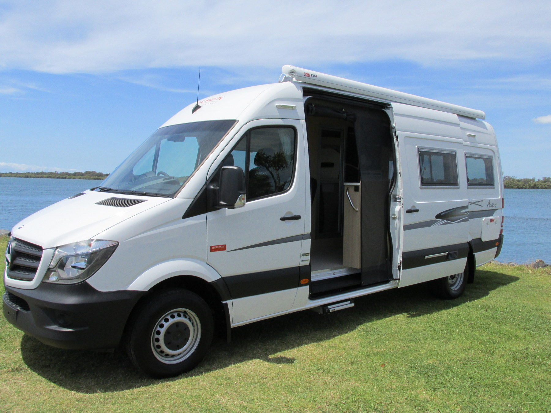 Horizon acacia motorhome mercedes sprinter lwb stock no for Mercedes benz motor home