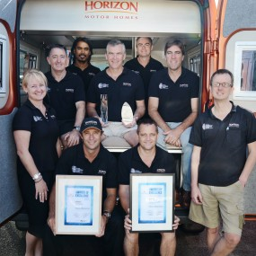 iMotorhome Magazine - Horizon Cleans Up