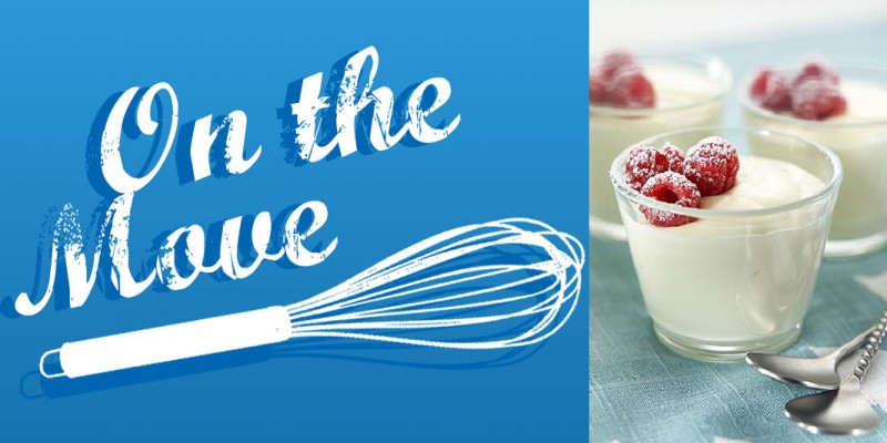 On The Move Recipe Series – White Chocolate Mousse Recipe
