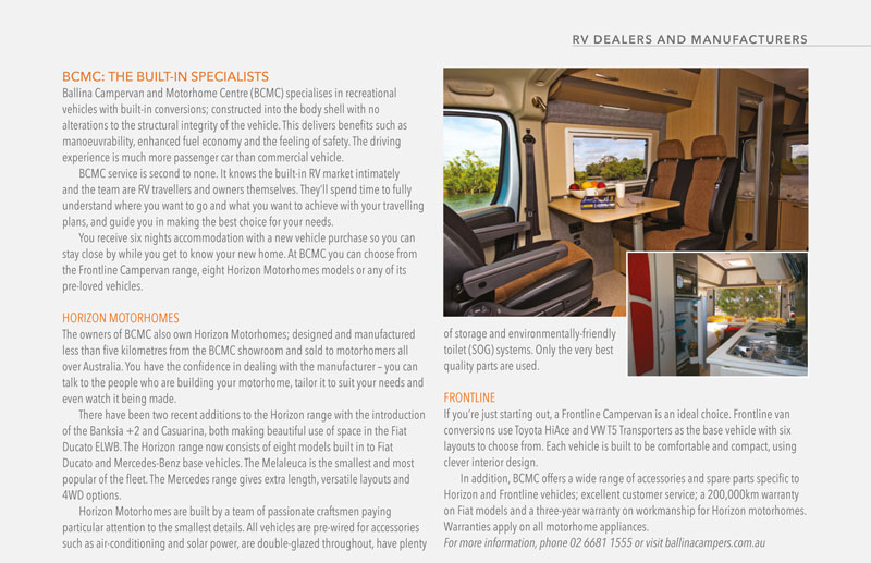 built-in motorhome specialists