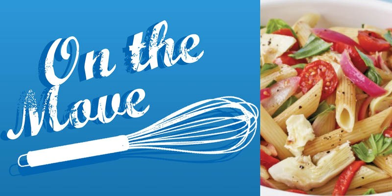 On the Move Recipe Series - Bocconcini Pasta Salad