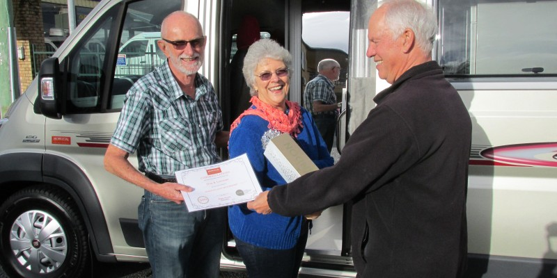 BCMC's 500th Horizon Motorhome customer