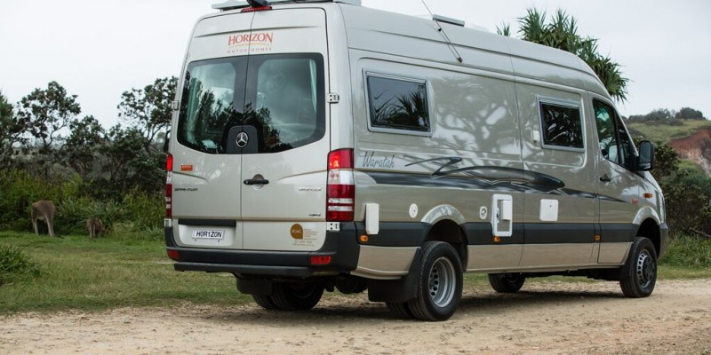 The Wanderer features the Horizon Motorhomes Waratah – June 2015