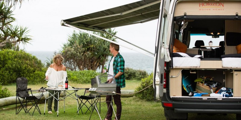 Live life outdoors with Horizon Motorhomes – The Wanderer – July 2015