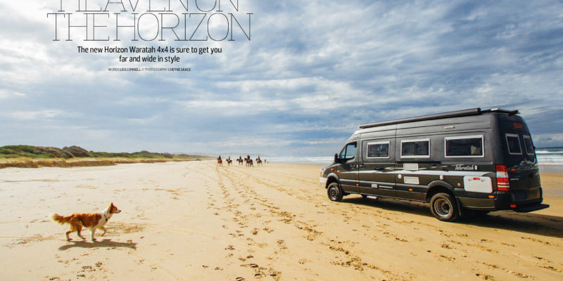 Heaven On The Horizon - AC&RV - August/September 2016