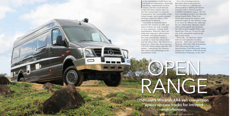 Open Range - The Wanderer - November 2016