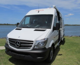 Horizon Wattle Motorhome Merc Sprinter LWB - Stock No: 8311