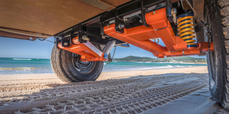 Cruisemaster Suspension - Providing off road caravans with a perfect ride!