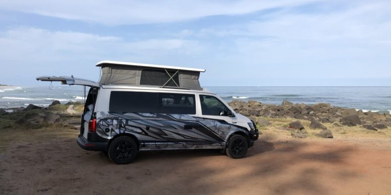 A COOL custom-wrapped Frontline VW