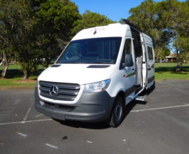 Horizon Wattle Mercedes Benz Sprinter LWB - Stock No: 8409