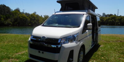 Frontline Adventurer Toyota Hiace LWB - Stock No: 8530